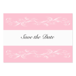 Pink Sweet Floral Save The Date Cards
