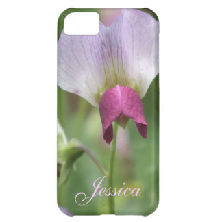 Pink Sweet Pea iPhone 5 Case *personalize*