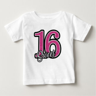 Pink Sweet Sixteen Baby T-Shirt