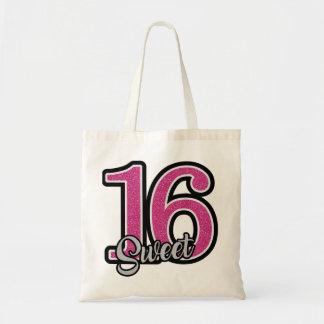 Pink Sweet Sixteen Tote Bag
