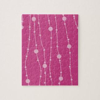 Pink Swingin' Beads Puzzle