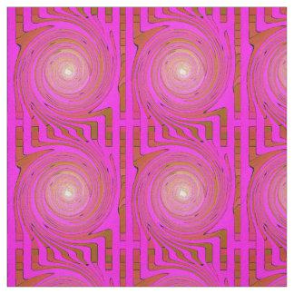Pink Swirl #3 Fabric