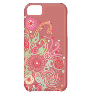 Pink Swirl Case-Mate iPhone 5 Barely There Case iPhone 5C Cases