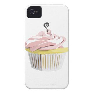 Pink swirl cupcake Blackberry Bold case