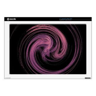 pink swirl laptop skin