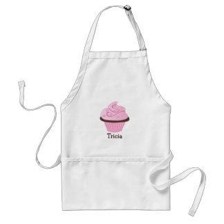 Pink Swirl Sprinkle Cupcake Aprons
