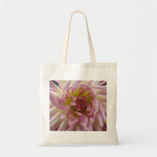 pink swirl tote canvas bag