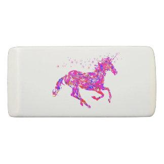 Pink Swirl Unicorn Eraser Back to School Supplies