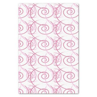 Pink Swirl White 10