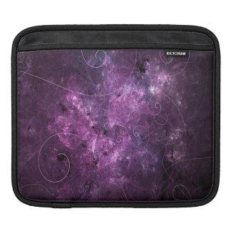 Pink Swirls Fractal iPad Sleeve