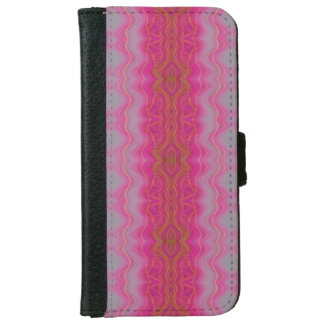 Pink Symmetry iPhone 6/6s Wallet Case