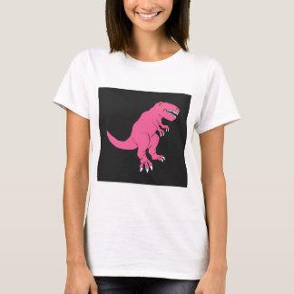 Pink T-Rex dinosaur design T-Shirt
