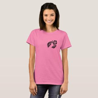 PINK T-SHIRT FLOWER VECTOR FashionFC