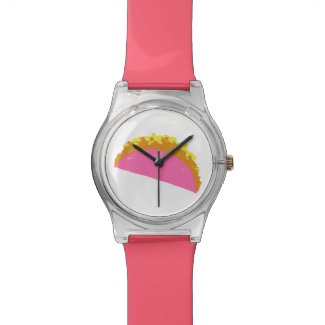 Pink Taco Watch