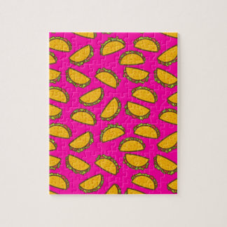 pink tacos jigsaw puzzle