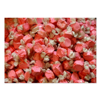 Pink Taffy Large Business Card