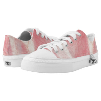 Pink Taffy Lo Top Printed Shoes