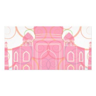 Pink Taj Mahal Card