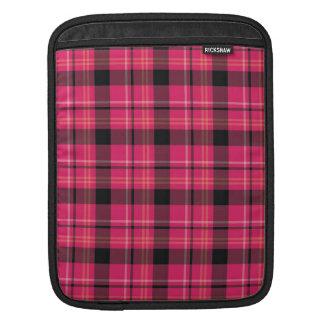 Pink Tartan iPad Sleeve