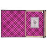 Pink Tartan Plaid Pattern Covers For iPad