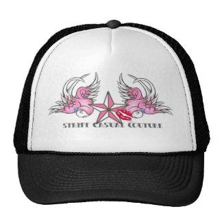 Pink Tattoo Bird Merchandise Trucker Hat