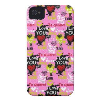 Pink Te Quiero iPhone 4 Case