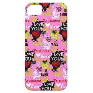 Pink Te Quiero iPhone 5 Case