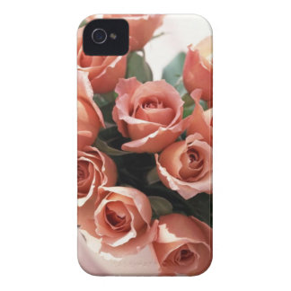 Pink Tea Cup Roses iPhone 4 Cover