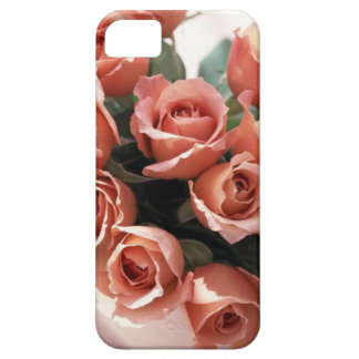 Pink Tea Cup Roses iPhone SE/5/5s Case