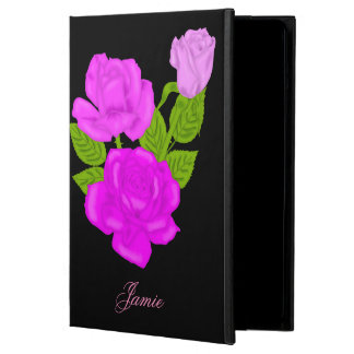 Pink Tea Rose Personalized Case For iPad Air