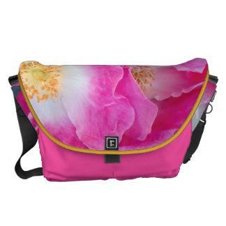 Pink Tea Roses Courier Bag