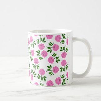 Pink Tea Roses Mug