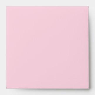 Pink Teal Blue Linen Envelopes