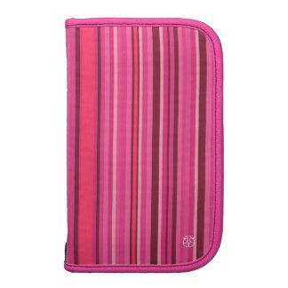 Pink Teal Moblie Zip Folio Folio Planner