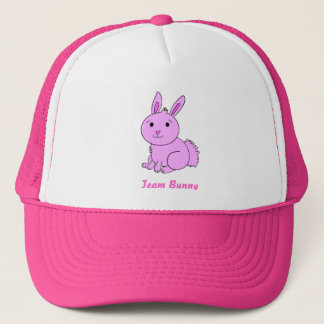 Pink Team Bunny Hat