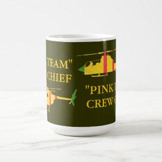 """Pink Team"" OH-6 and AH-1G Crew Chief Mug"