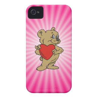 Pink Teddy Bear Blackberry Bold Covers