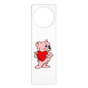 valentine day cute door hangers zazzle