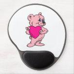 Pink Teddy Bear Gel Mouse Pad