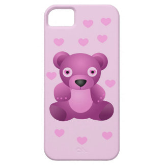 Pink Teddy Bear iPhone 5 5S Barely There iPhone 5 Case