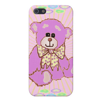 Pink Teddy Bear  iPhone 5 Cases