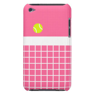 Pink Tennis Court iPod Touch Case