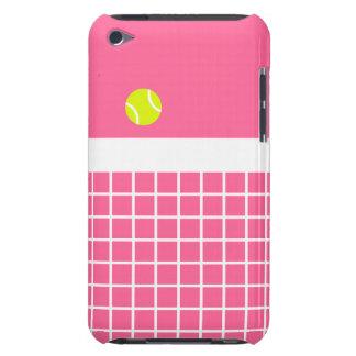 Pink Tennis Court iPod Case-Mate Case