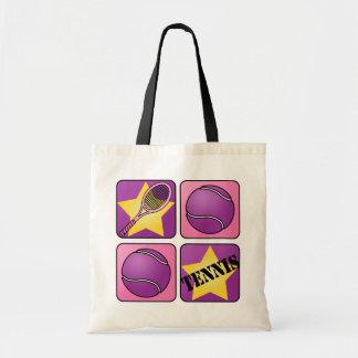 Pink Tennis Tote Bag