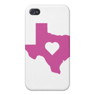 Pink Texas iPhone 4 Case