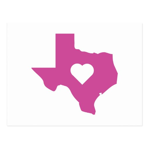 Pink Texas Post Cards