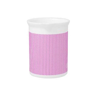 Pink texture drink pitcher