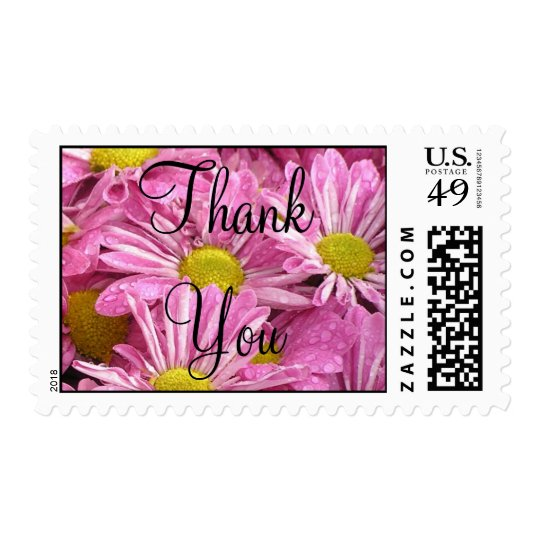 Pink- Thank You stamp