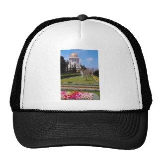 Pink The world center of the Bahai faith, Haifa, I Trucker Hats