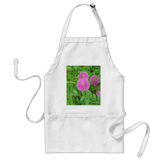 Pink Thistle Adult Apron